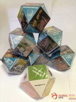 Кубик трансформер. Форма бриллиант. Размер 70. Фото 14