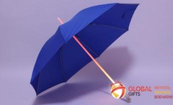 Промо зонты с LED подсветкой. Фото 3