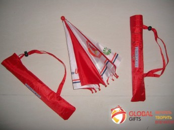 Промо зонт на голову. Фото 5
