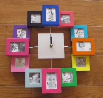Часы настенные с фоторамками Фото 2