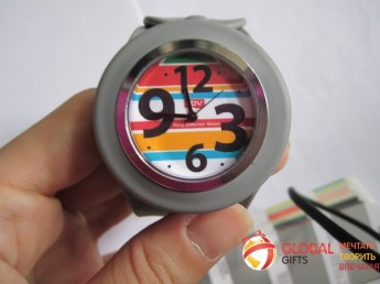 Часы слэп. Цвет по Pantone. Фирменная символика заказчика. Фото 2