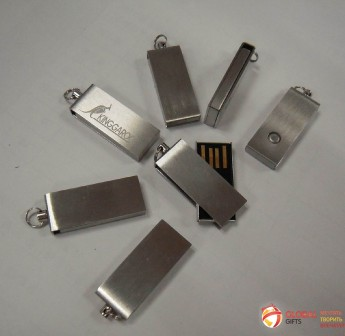 USB flash (флэшка) метал. Фото 1
