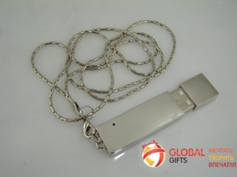 USB flash (флэшка) метал. Фото 12