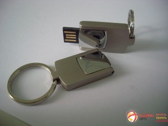 USB flash (флэшка) метал. Фото 2