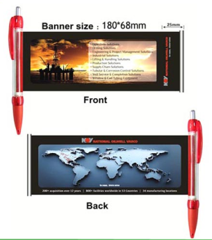 Ручка-баннер
