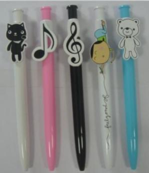 Ручка с фигурным клипом. Фото 1
