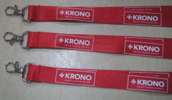 ланьярд, цвет по палитре Pantone для компании KRONO