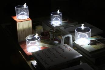 Надувной светильник на солнечной энергии 7