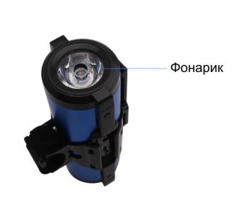 Power bank с фонариком и креплением 2