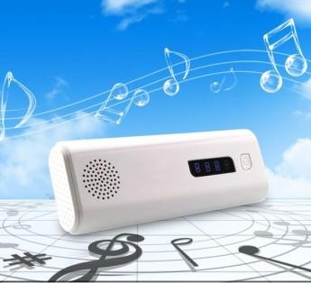 Power bank универсальный с фонариком, аудио динамик и кнопка управления вспышкой телефона, блютуз 11