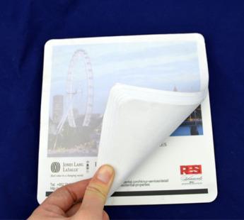 Коврики для мыши пластиковые на резиновой основе Фото 4