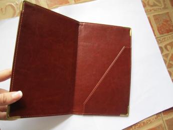 Папка-счет индивидуальный пошив Фото 3