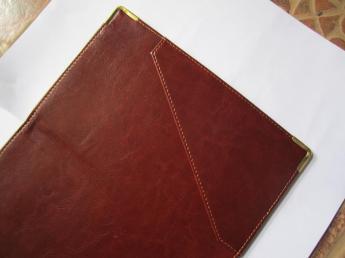 Папка-счет индивидуальный пошив Фото 6
