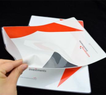 Папки конверты уголки из пластика Фото 3