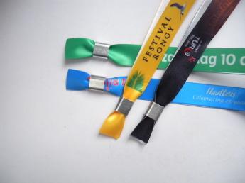 Тканевые браслеты для мероприятий Фото 4