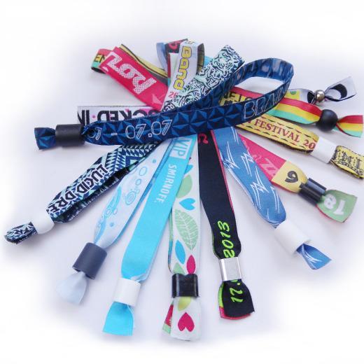 Тканевые браслеты для мероприятий Фото 7