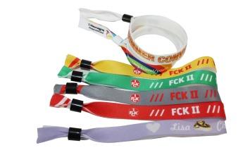 Тканевые браслеты для мероприятий Фото 9