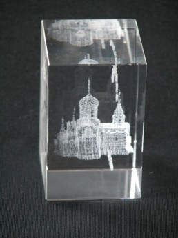 3D гравировка в акриле