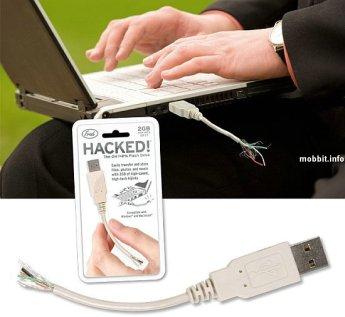 USB flash флэшка  в виде оголенного провода