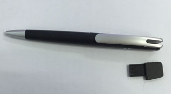 USB flash флэшка пластиковая авторучка Фото 3