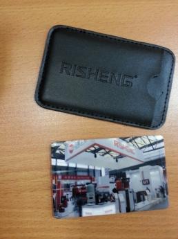 USB flash флэшка  размером с кредитку Фото 2 с чехлом