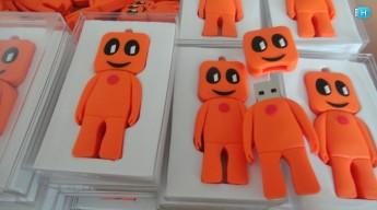 USB flash флэшки из ПВХ PVC по индивидуаьному дизайну Фото 9