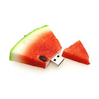 USB flash PVC флэшка из ПВХ по индивидуальному дизайну в виде арбуза