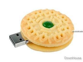 USB flash PVC флэшка из ПВХ по индивидуальному дизайну в виде печенья фото 6