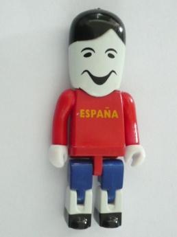 USB flash PVC флэшка из пластика в виде человечков фото 5