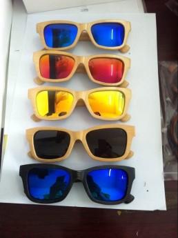 Деревнные солнечные очки Фото 10