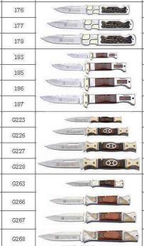Ножи карманные Фото 2