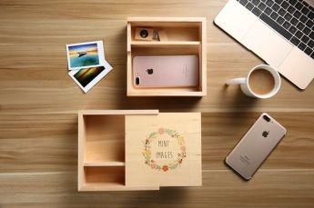 Подарочная коробка из дерева Фото 3