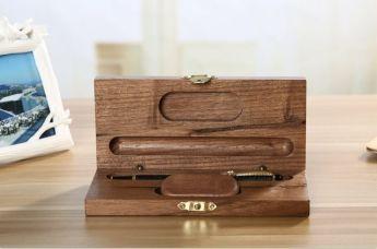 Ручка и флешка в деревянном корпусе в деревянном футляре Фото 2