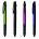Ручка шариковая трехцветная с тач скрин Фото 2