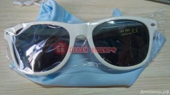 Очки солнцезащитные с тканевым чехлом 7550 штук