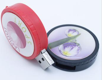 Пластиковая флешка печать полноцвет с заливкой смолой Фото 3