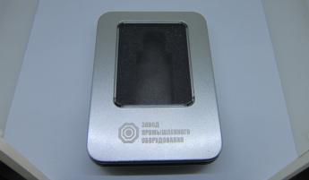 Подарочная метал коробка для флешки Фото 1