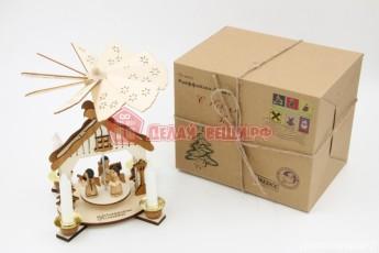 Подсвечник карусель в подарочной упаковке 1000 штук