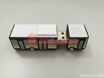 Флешка ПВХ автобус 500 штук