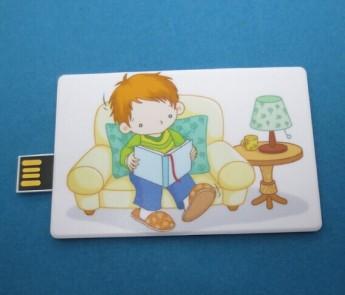 Флешка карточка паззл Фото 2