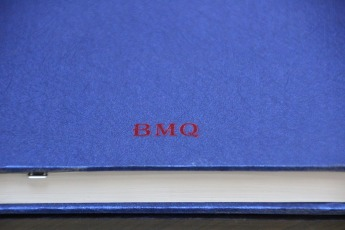 Тиснение логотипа фольгой на обложке