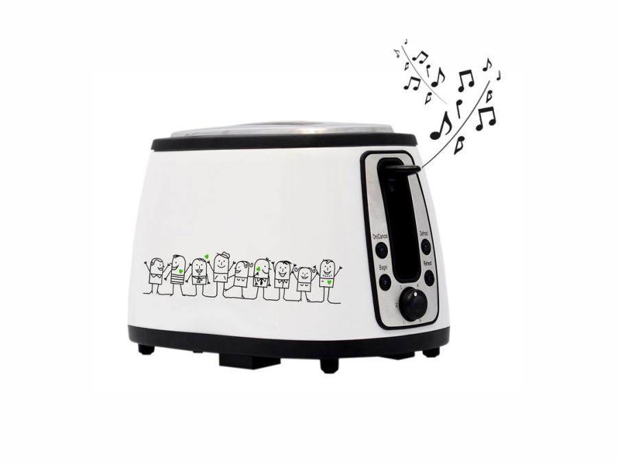Тостер со звуковым эффектом