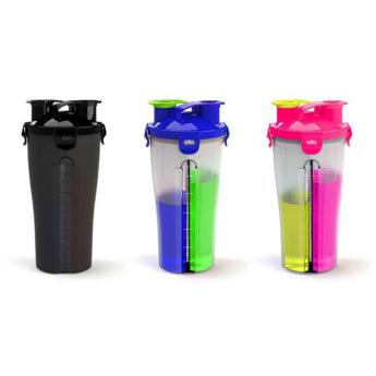 Бутылка с двумя отделениями для жидкостей Фото 5