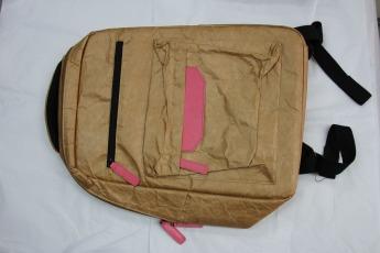Ненамокаемый бумажный рюкзак образец Фото 1