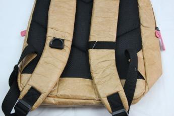 Ненамокаемый бумажный рюкзак образец Фото 13