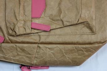Ненамокаемый бумажный рюкзак образец Фото 2