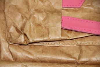 Ненамокаемый бумажный рюкзак образец Фото 5