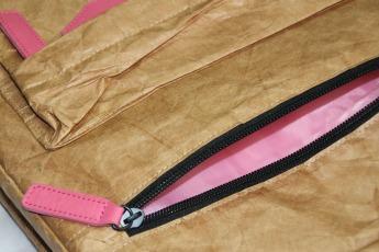 Ненамокаемый бумажный рюкзак образец Фото 6