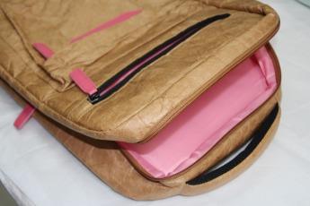 Ненамокаемый бумажный рюкзак образец Фото 8