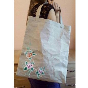 Непромокаемая бумажная дамская сумка Фото 14